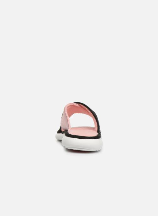 Chaussons Isotoner Sandale jersey semelle ergonomique ZEN flex Rose vue droite