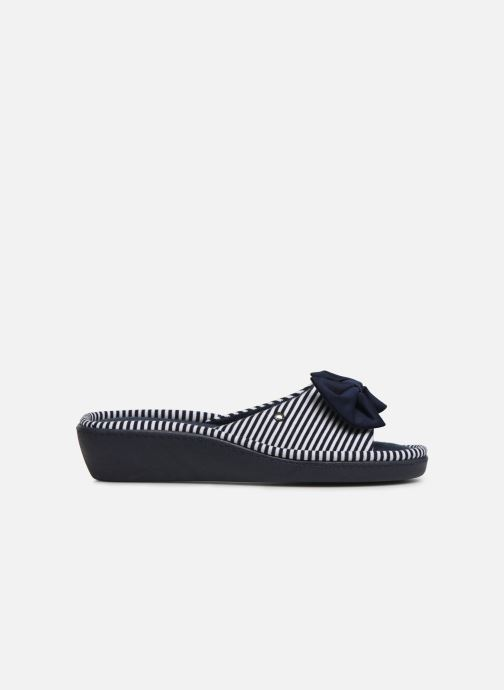 Pantoffels Isotoner Sandale jersey Blauw achterkant