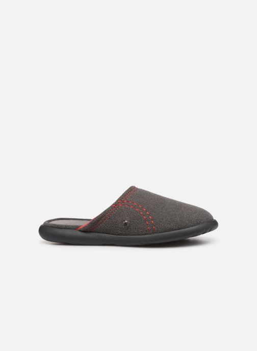 Slippers Isotoner Mule polaire ergonomique ZEN flex Grey back view