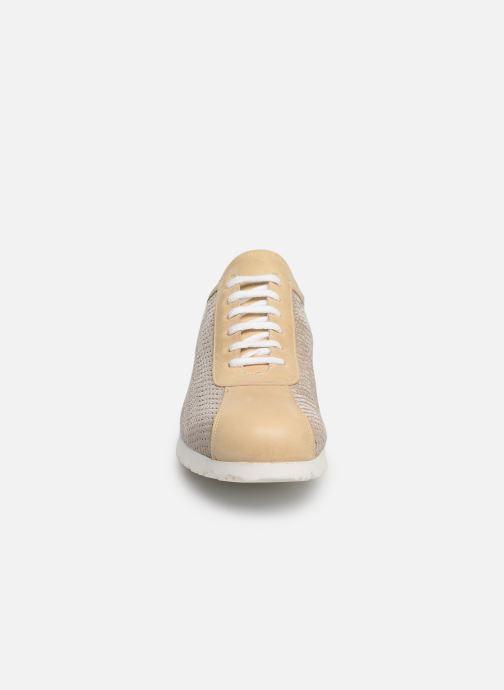 Baskets Elizabeth Stuart Jlac 462 Beige vue portées chaussures