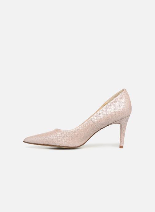 High heels Elizabeth Stuart Luston 326 Beige front view