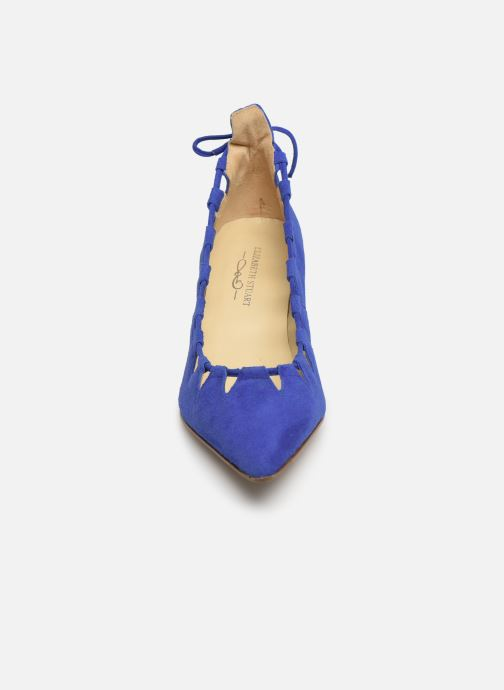 Escarpins Elizabeth Stuart Rysoul 300 Bleu vue portées chaussures