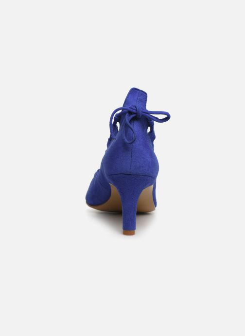 High heels Elizabeth Stuart Rysoul 300 Blue view from the right