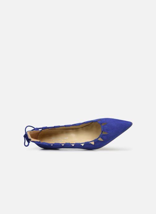 High heels Elizabeth Stuart Rysoul 300 Blue view from the left