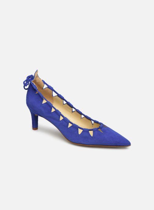 Escarpins Elizabeth Stuart Rysoul 300 Bleu vue détail/paire
