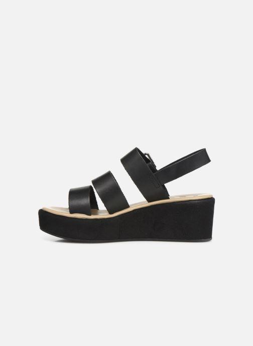 Sandales et nu-pieds Elizabeth Stuart Tobriz 465 Noir vue face