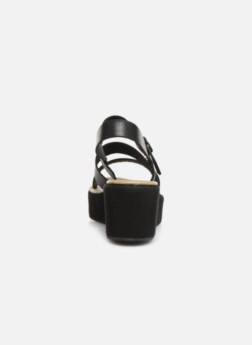 Sandales et nu-pieds Elizabeth Stuart Tobriz 465 Noir vue droite