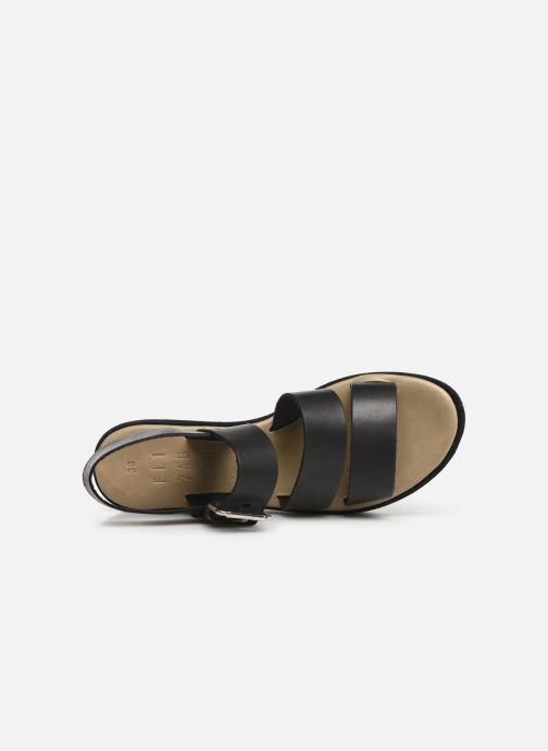Sandales et nu-pieds Elizabeth Stuart Tobriz 465 Noir vue gauche