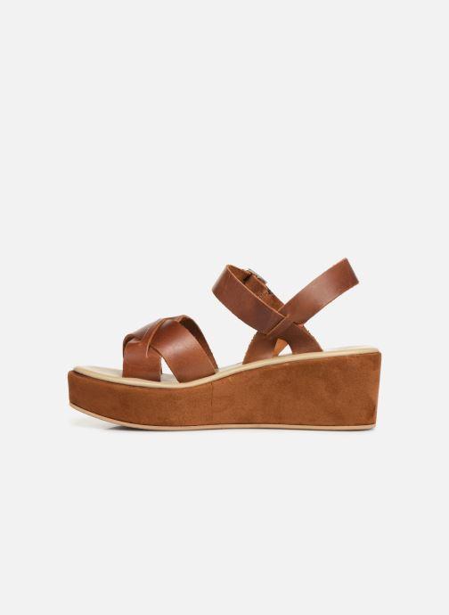 Sandales et nu-pieds Elizabeth Stuart Tokko 465 Marron vue face