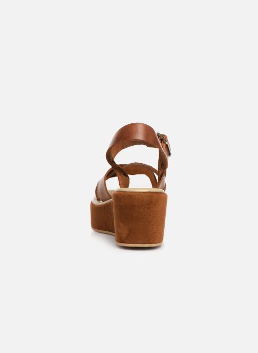 Sandales et nu-pieds Elizabeth Stuart Tokko 465 Marron vue droite