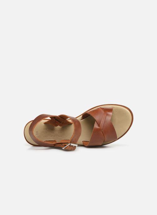 Sandales et nu-pieds Elizabeth Stuart Tokko 465 Marron vue gauche