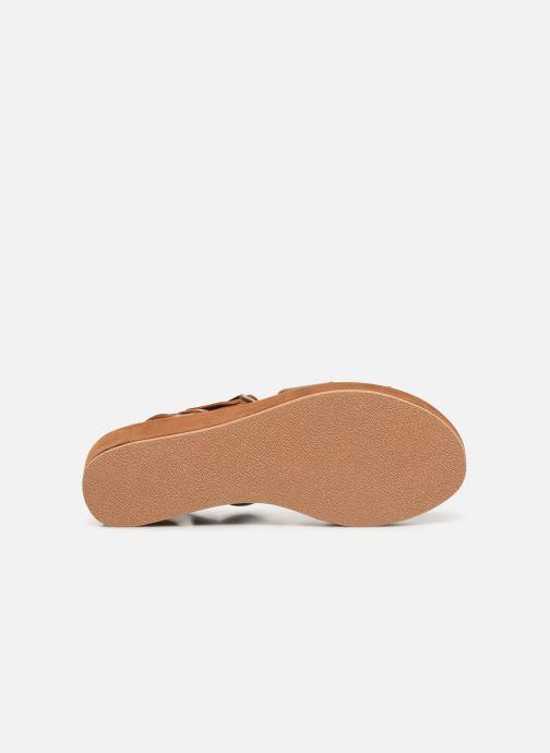 Sandales et nu-pieds Elizabeth Stuart Tokko 465 Marron vue haut