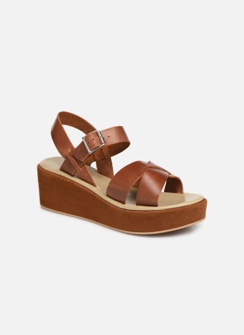 Sandales et nu-pieds Elizabeth Stuart Tokko 465 Marron vue détail/paire