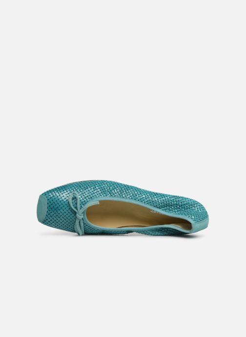 Ballerines Elizabeth Stuart York 452 Bleu vue gauche