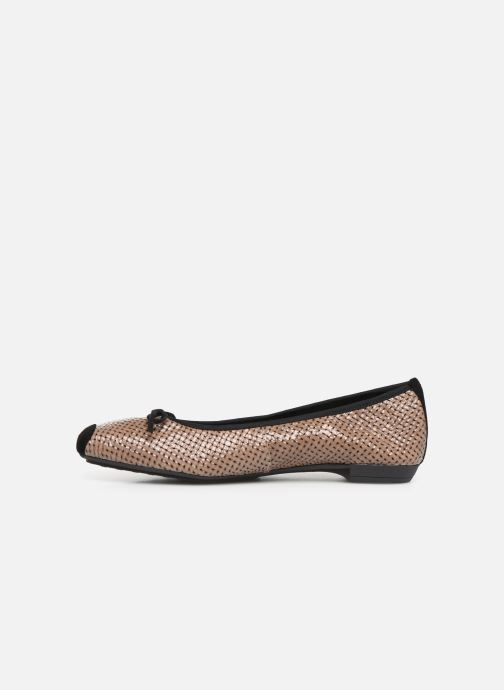 Ballerines Elizabeth Stuart York 452 Marron vue face