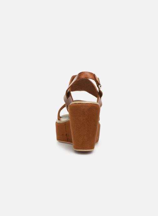 Sandales et nu-pieds Elizabeth Stuart Zacari 465 Marron vue droite
