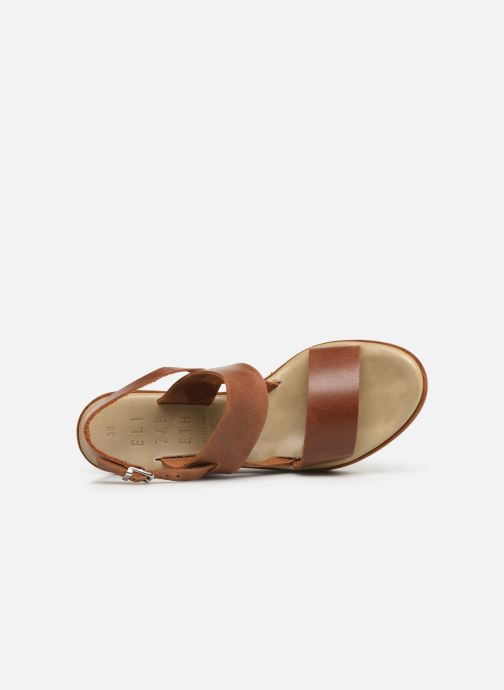 Sandales et nu-pieds Elizabeth Stuart Zacari 465 Marron vue gauche