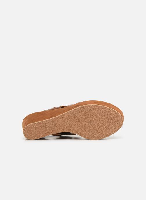 Sandales et nu-pieds Elizabeth Stuart Zacari 465 Marron vue haut