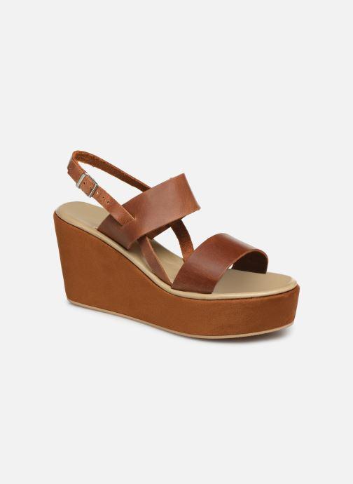 Sandales et nu-pieds Elizabeth Stuart Zacari 465 Marron vue détail/paire