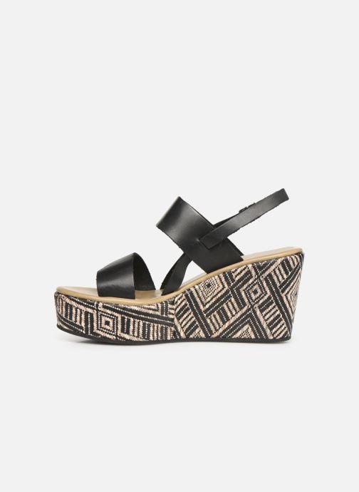 Sandales et nu-pieds Elizabeth Stuart Zacari 466 Noir vue face