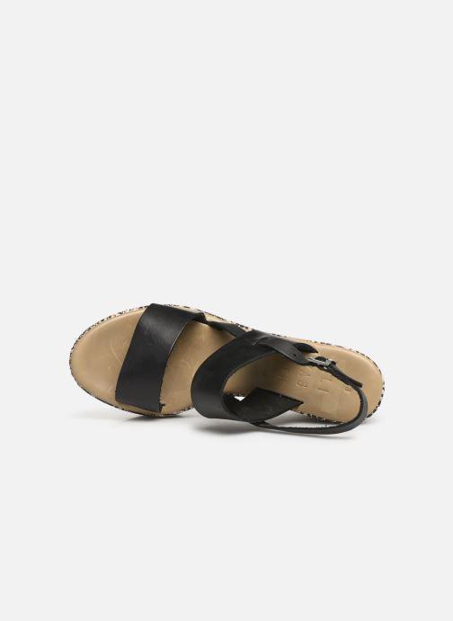 Sandales et nu-pieds Elizabeth Stuart Zacari 466 Noir vue gauche