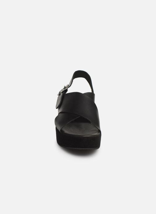 Sandales et nu-pieds Elizabeth Stuart Trieste-G 465 Noir vue portées chaussures