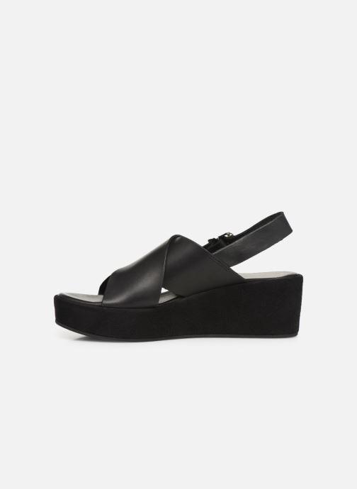 Sandales et nu-pieds Elizabeth Stuart Trieste-G 465 Noir vue face