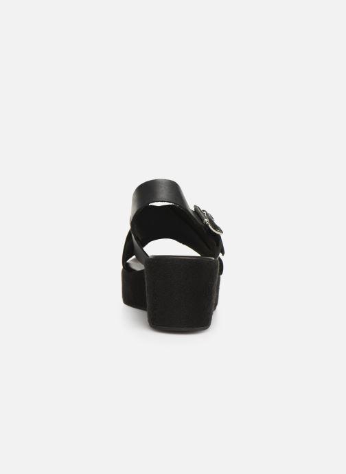 Sandales et nu-pieds Elizabeth Stuart Trieste-G 465 Noir vue droite
