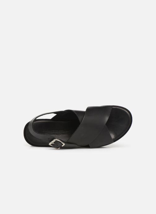 Sandales et nu-pieds Elizabeth Stuart Trieste-G 465 Noir vue gauche
