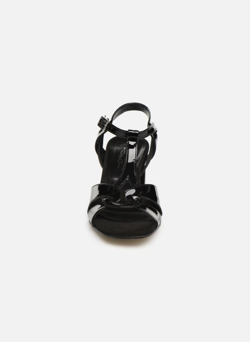 Sandales et nu-pieds Elizabeth Stuart Zuti-G Noir vue portées chaussures