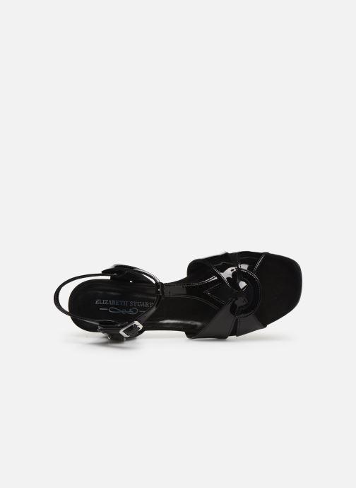 Sandales et nu-pieds Elizabeth Stuart Zuti-G Noir vue gauche