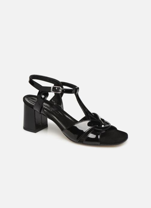 Sandales et nu-pieds Elizabeth Stuart Zuti-G Noir vue détail/paire