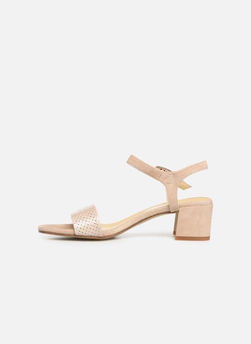 Sandales et nu-pieds Elizabeth Stuart Slim-G 252 Beige vue face