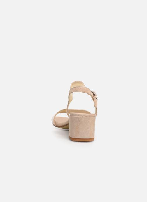 Sandales et nu-pieds Elizabeth Stuart Slim-G 252 Beige vue droite