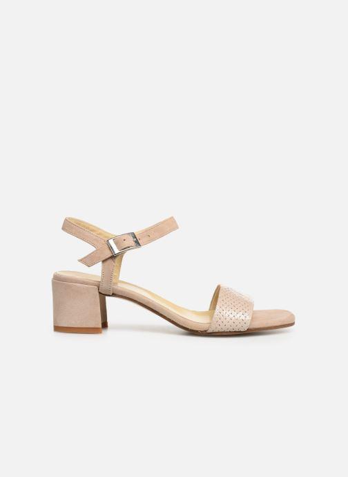 Sandales et nu-pieds Elizabeth Stuart Slim-G 252 Beige vue derrière
