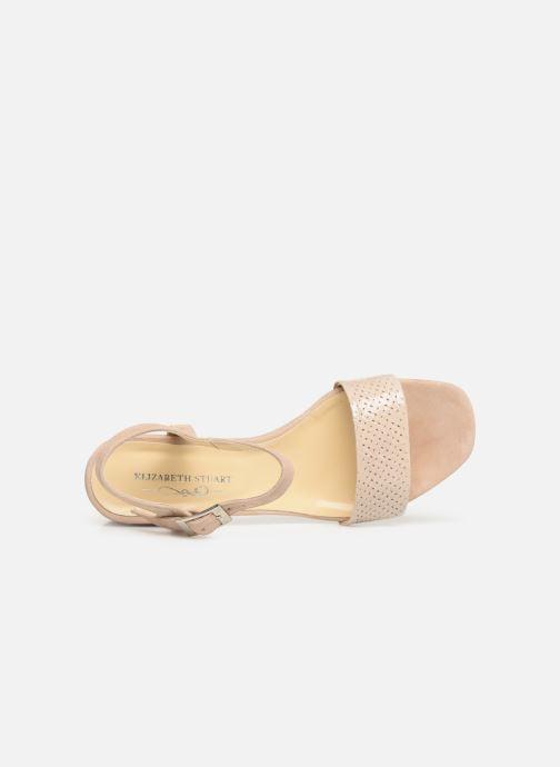 Sandales et nu-pieds Elizabeth Stuart Slim-G 252 Beige vue gauche
