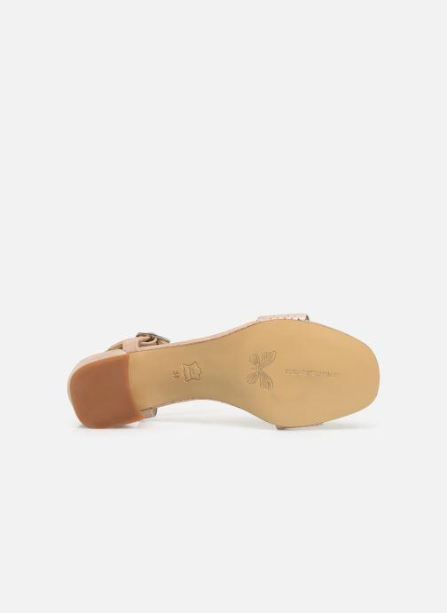 Sandales et nu-pieds Elizabeth Stuart Slim-G 252 Beige vue haut