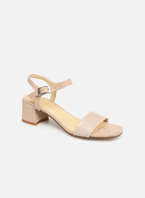 Sandales et nu-pieds Elizabeth Stuart Slim-G 252 Beige vue détail/paire