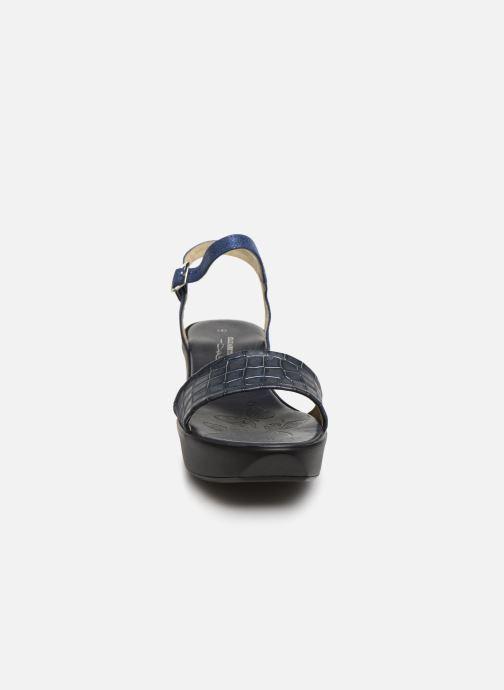 Sandales et nu-pieds Elizabeth Stuart Villau-G 464 Bleu vue portées chaussures