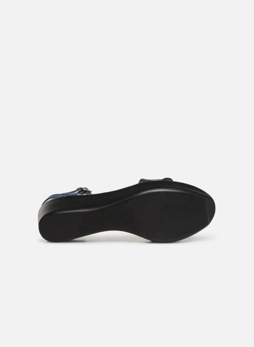 Sandales et nu-pieds Elizabeth Stuart Villau-G 464 Bleu vue haut