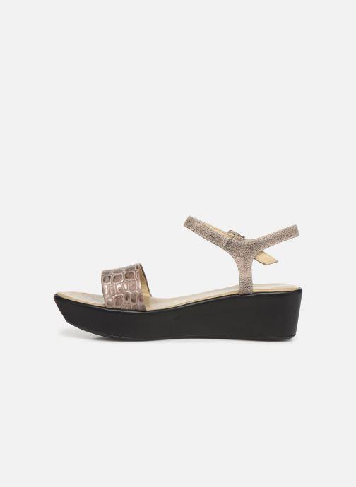Sandales et nu-pieds Elizabeth Stuart Villau-G 464 Beige vue face