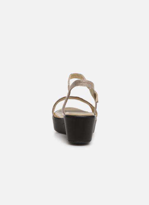 Sandales et nu-pieds Elizabeth Stuart Villau-G 464 Beige vue droite