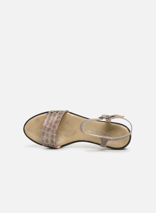 Sandals Elizabeth Stuart Villau-G 464 Beige view from the left
