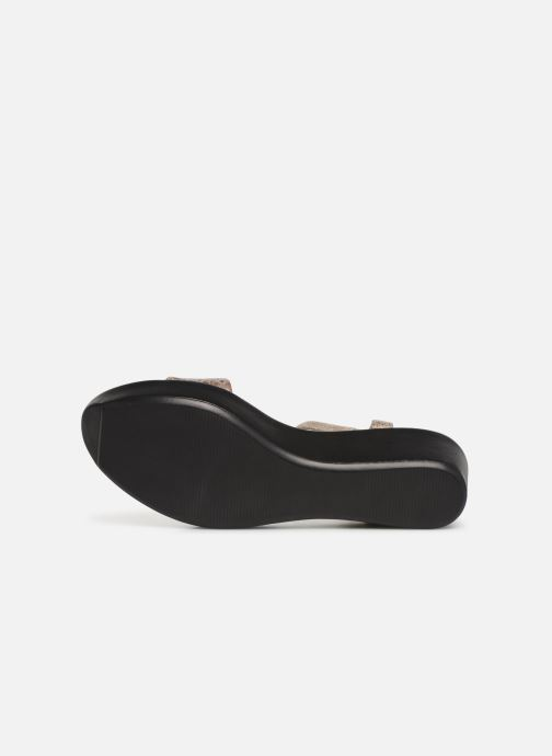 Sandales et nu-pieds Elizabeth Stuart Villau-G 464 Beige vue haut
