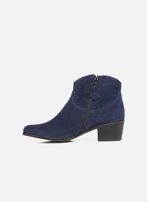 Ankle boots Elizabeth Stuart Copper 334 Blue front view