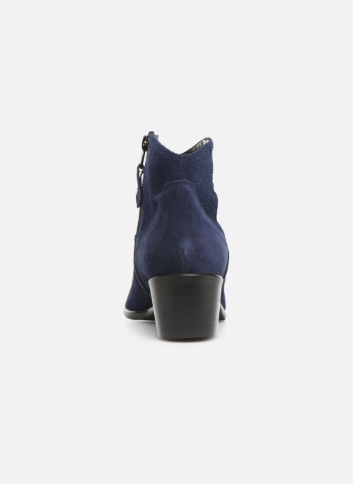 Ankle boots Elizabeth Stuart Copper 334 Blue view from the right