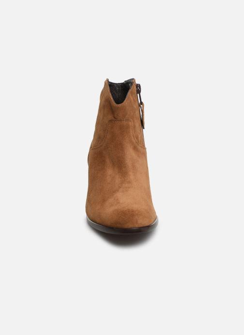 Bottines et boots Elizabeth Stuart Copper 334 Marron vue portées chaussures