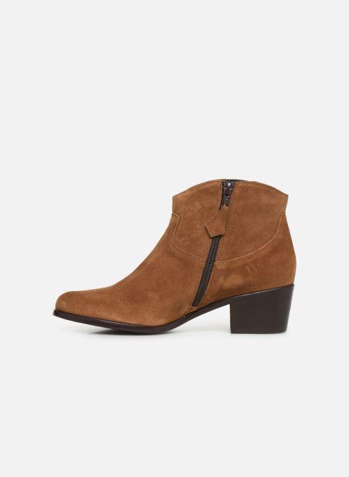 Bottines et boots Elizabeth Stuart Copper 334 Marron vue face