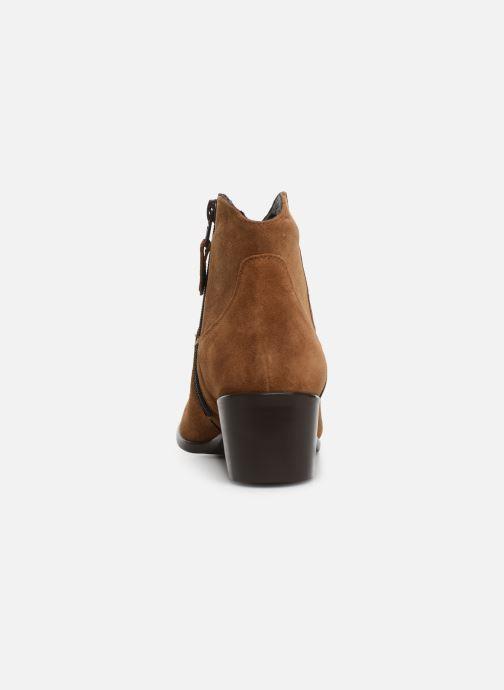 Bottines et boots Elizabeth Stuart Copper 334 Marron vue droite