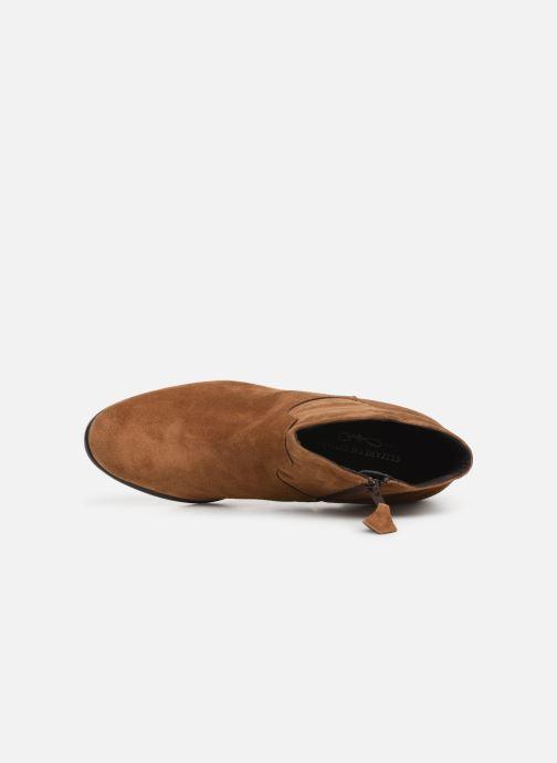 Bottines et boots Elizabeth Stuart Copper 334 Marron vue gauche